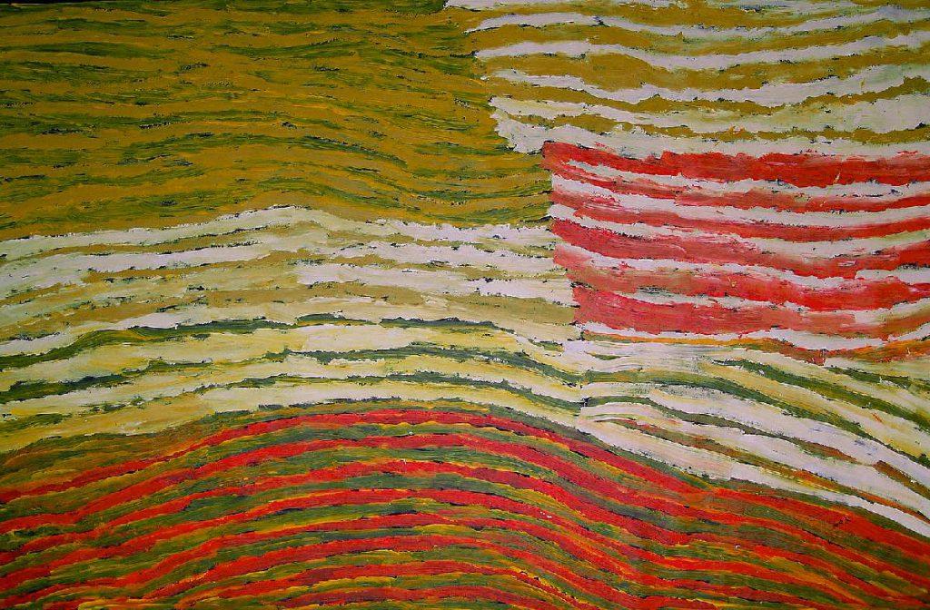 Makinti Napanangka painting