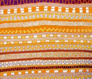 Patrick Tjungurrayi painting